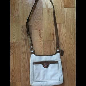 NWOT Coach Leather Crossbody Bag